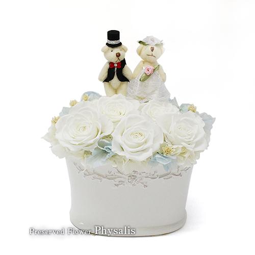 結婚祝いギフトプリザーブドフラワー